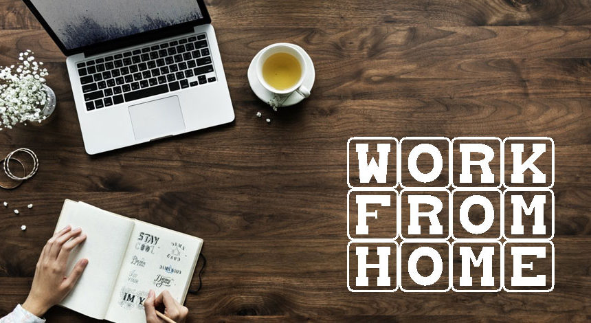STAY PRODUCTIVE WHILE WORKING FROM HOME: HERE ARE SOME TIPS