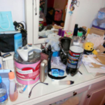 Organize your Messy dressing table